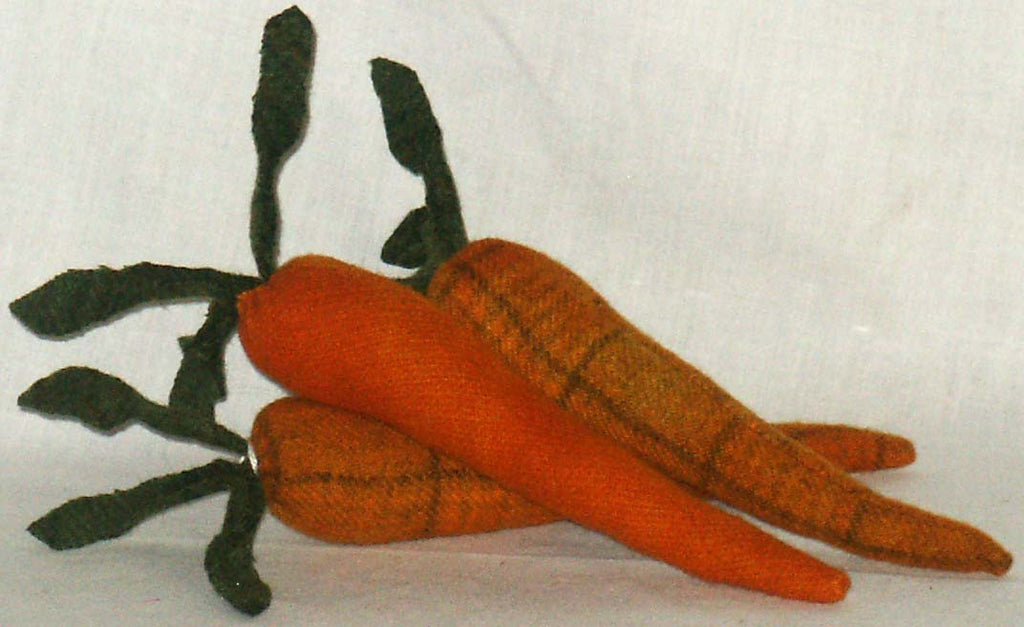 Set of 3 Carrots - Kitty's Ltd.