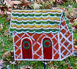 Gingerbread House stake