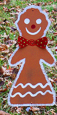 Gingerbread Woman stake