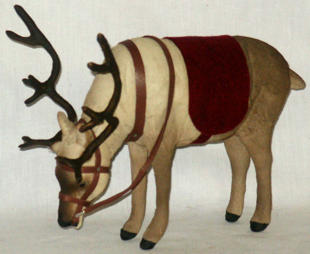 Reindeer - large with Head Down - Kitty's Ltd.