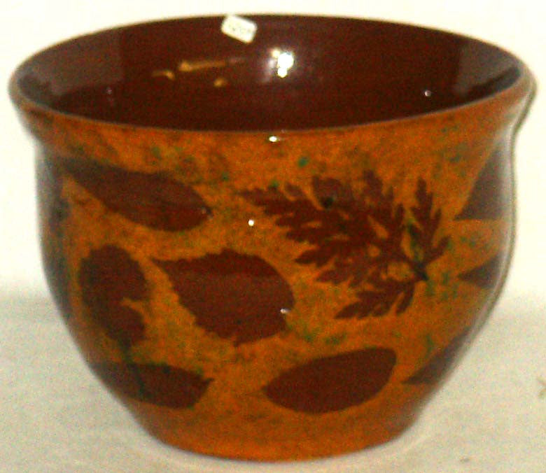 Bowl with Leaves - Kitty's Ltd.