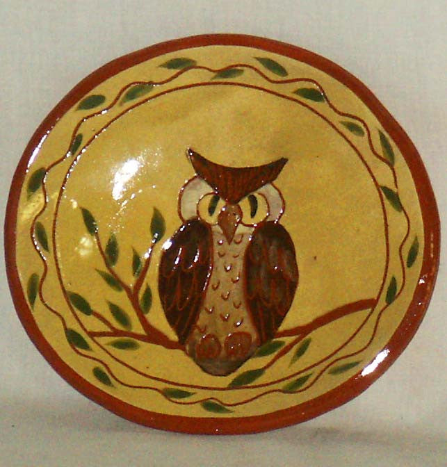 Owl Plate - Kitty's Ltd.