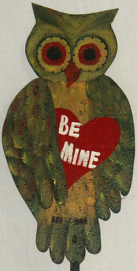 "Owl ""Be Mine"" Stake - Kitty's Ltd."