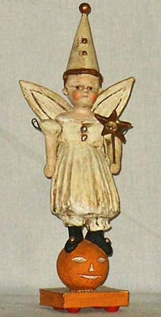 Pumpkin Fairy Doll