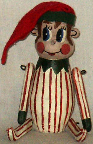 Penny Doll Red Striped Knee Huggger - Kitty's Ltd.