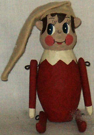 Penny Doll Red Knee Huggger - Kitty's Ltd.