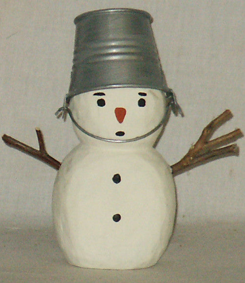 Snowman Bucket Head - Kitty's Ltd.