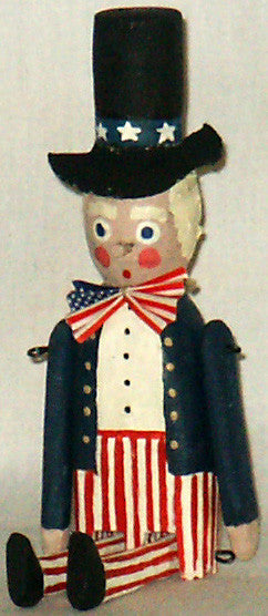 Penny Doll Uncle Sam - Kitty's Ltd.