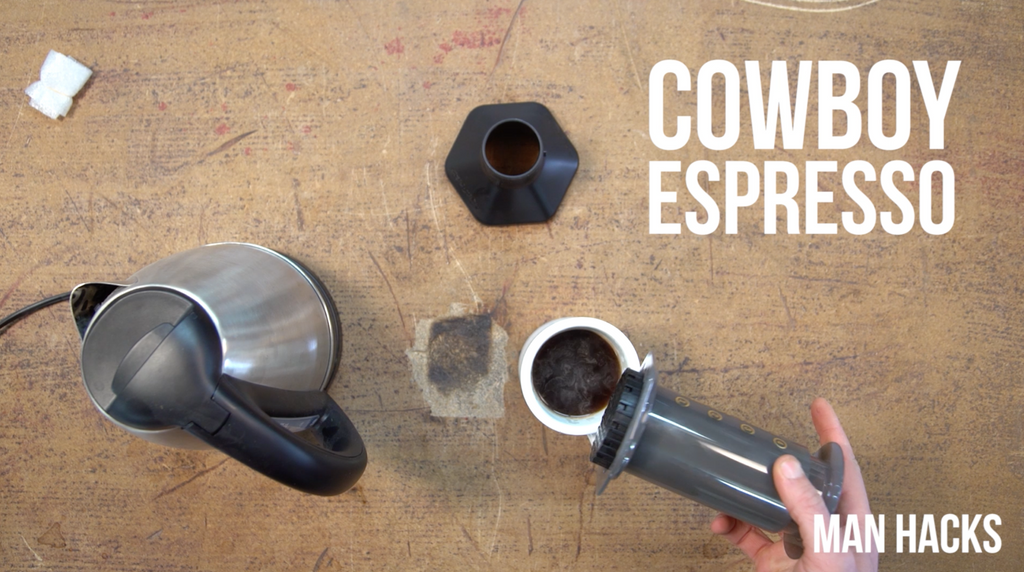 Man Hacks Aeropress