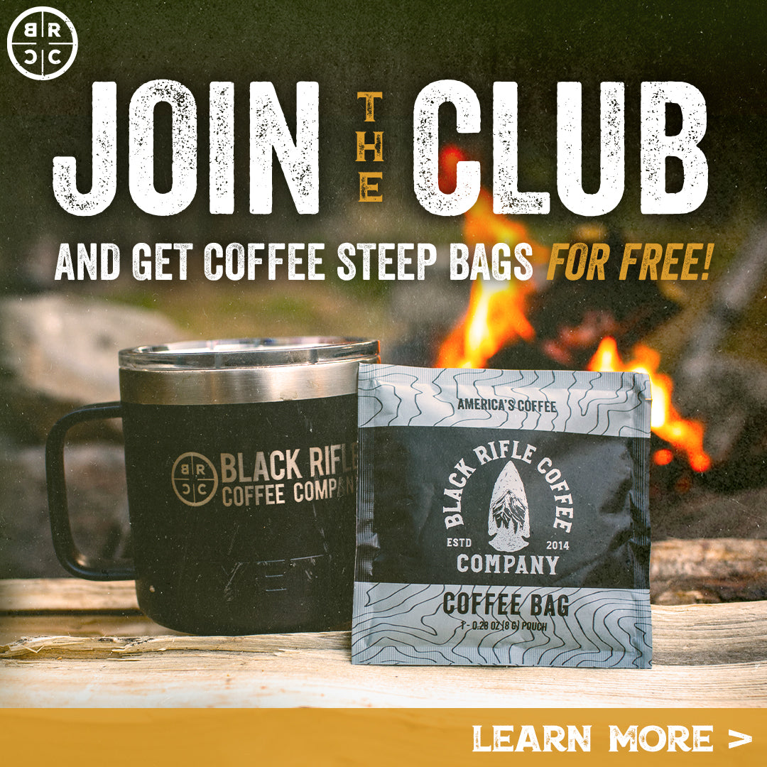 Join The Club and get a free box of coffee steep bags for free!
