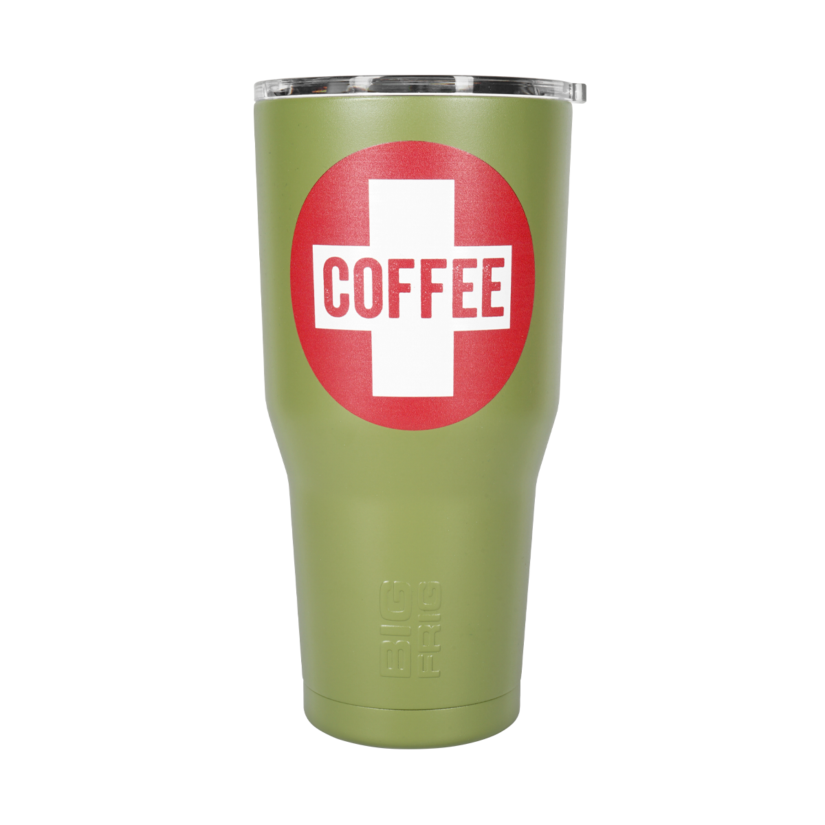 Shop our frontlines series Coffee Saves 30oz tumbler.