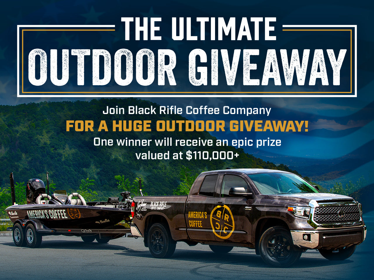 Black Rifle Coffee Company Ultimate Outdoor Giveaway