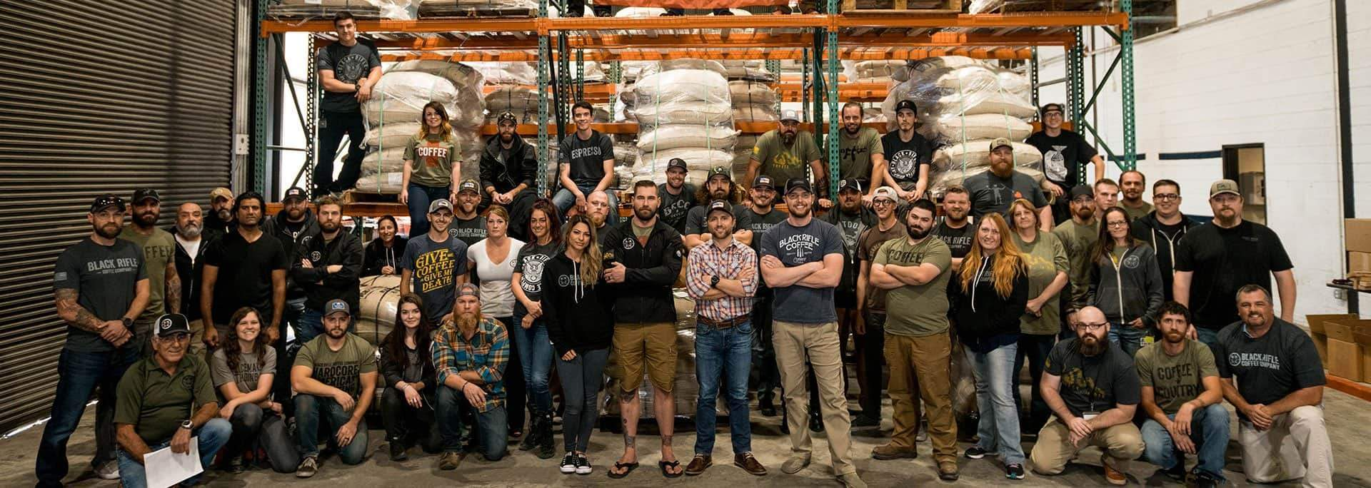 Our Mission - Black Rifle Coffee Company