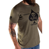 SOFLETE SHIRT - Black on Green - Black Rifle Coffee Company - 3