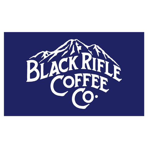 "BRCC Mountain Logo Sticker - 6"" x 4"""