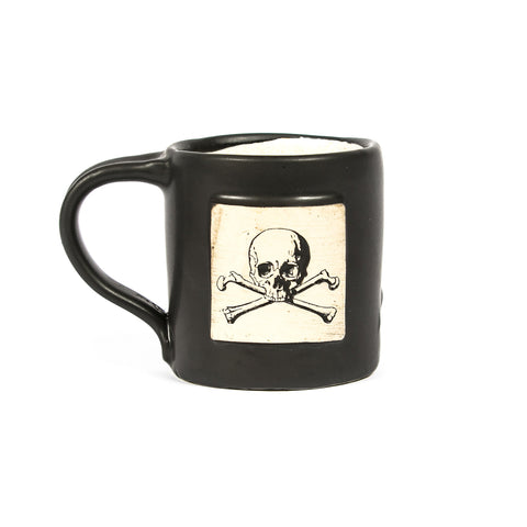 Skull & Bones Hand Made Mug - Black Rifle Coffee Company