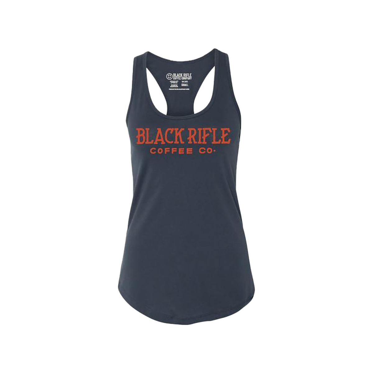 BRCC Antique Logo Womens Tank Top - Indigo