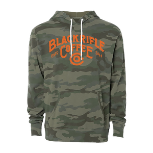 BRCC Great Outdoors Logo Pullover Hoodie - Camo w/Orange