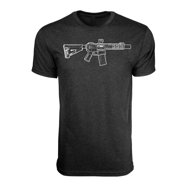BRCC Hand drawn SBR - Vintage Black
