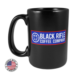 Reticle Optic Red White and Blue Mug