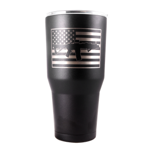 30oz SBR Tumbler - Black