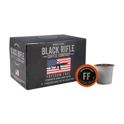 Black Rifle Freedom Roast Coffee Rounds
