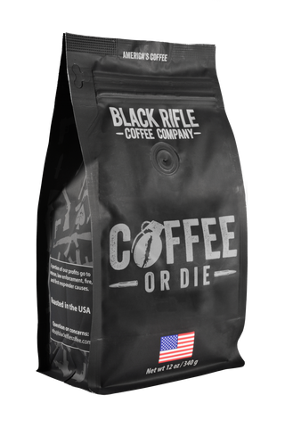 Black Rifle Coffee or Die Medium Roast Coffe