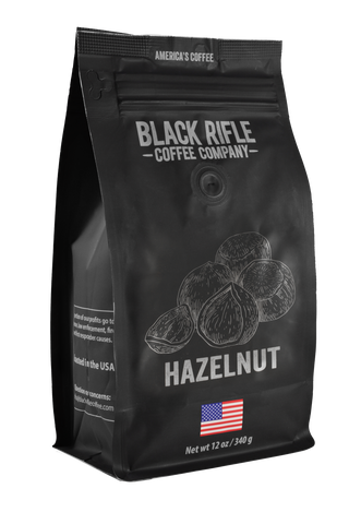 Black Rifle Hazelnut Flavor Coffee