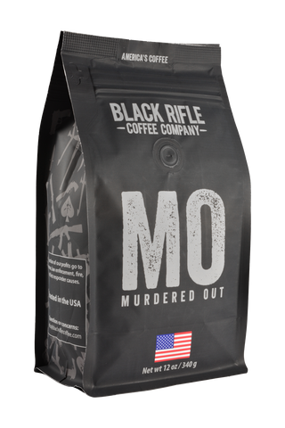Black Rifle Murdered Out Roast Coffee