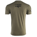 SOFLETE SHIRT - Black on Green - Black Rifle Coffee Company - 2