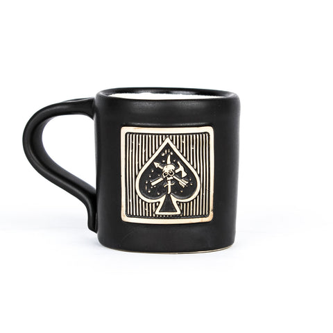 CAF Spade Hand Made Mug - Black Rifle Coffee Company - 1