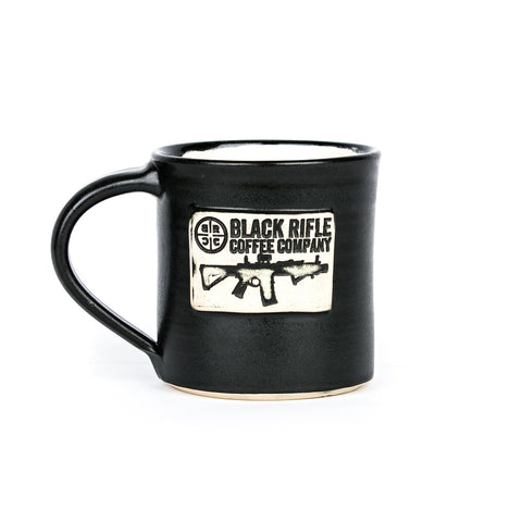 BRCC Logo Hand Made Mug - Black Rifle Coffee Company - 1