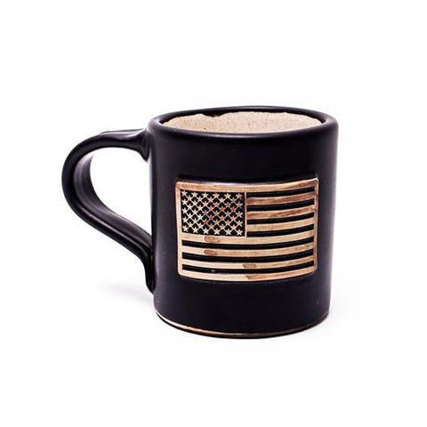 Black & White Flag Hand Made Mug