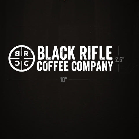 "BRCC Company Logo Decal: 10""x2.5"""