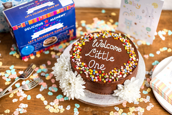 Gluten & Dairy Free Let's Celebrate Chocolate Cake Kit