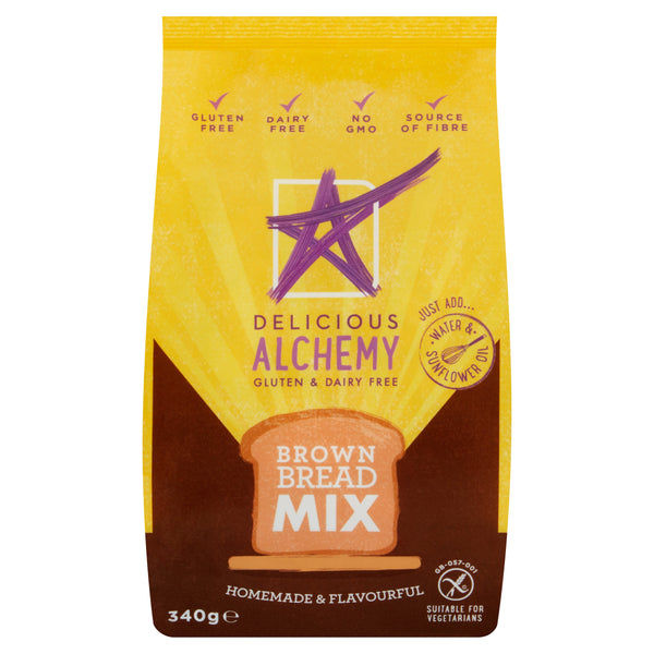 Gluten & Dairy Free Brown Bread Mix (Box of 5 Bags)