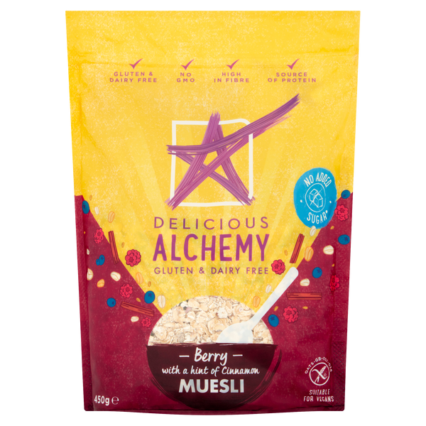 Gluten & Dairy Free Berry Muesli - with a Hint of Cinnamon