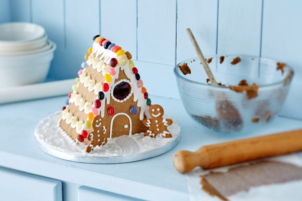Dairy Free Gingerbread House