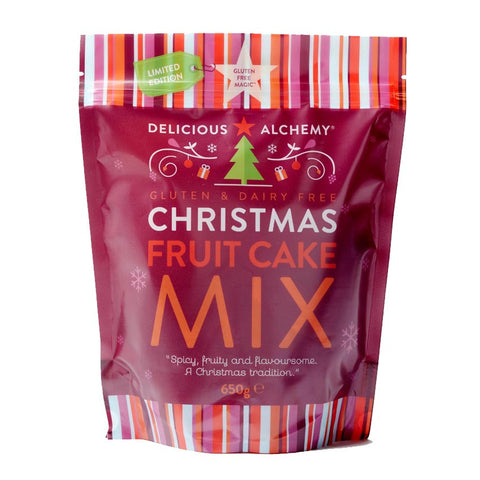 Gluten & Dairy Free Christmas Fruit Cake Mix
