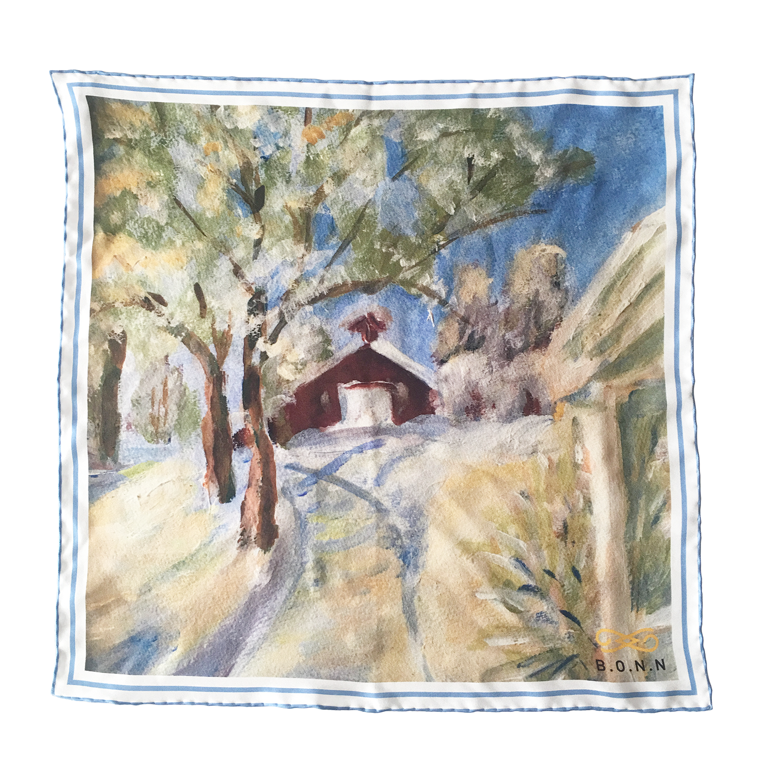 Farm pocket square