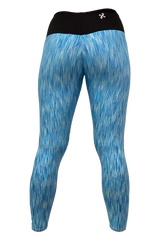 Blue Strata Tank & Yoga Pant Set