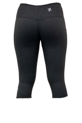 Charcoal Pilates Cropped Yoga Pant