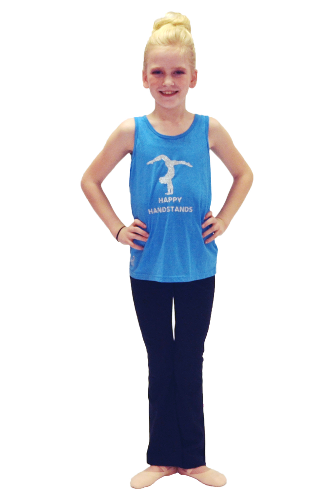Happy Handstand Bright Blue Tank