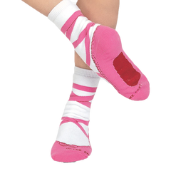 Pink Pointe Socks