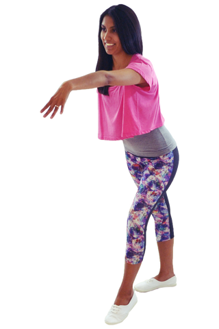 Diamonds Girl's BFF Yoga Capri