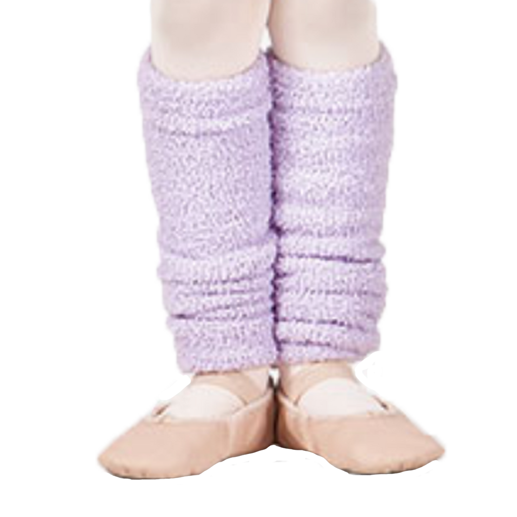Super Soft Lavender Leg Warmers