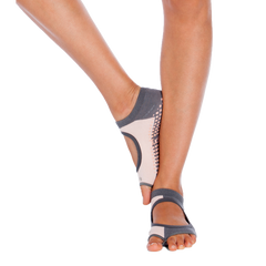 Grey Blush Pilates Socks