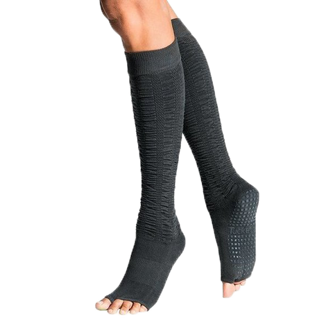 Ruched Stones Pilates Socks