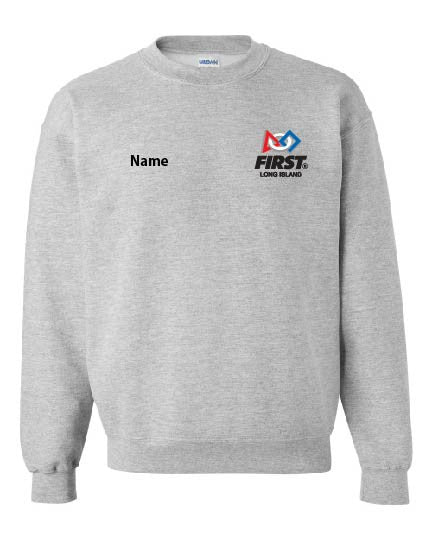 FIRST LI Crew Neck Sweatshirt - 12000/18000B