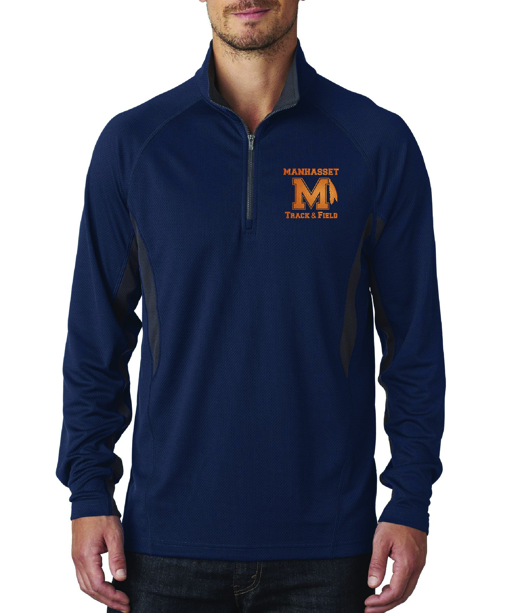 Manhasset Track & Field 1/4 Zip